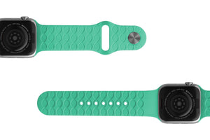 Watch Band Dimension Chevron Seafoam - Groove Life Silicone Wedding Rings
