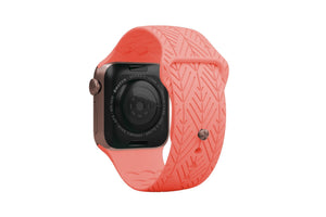 PREORDER | Watch Band Dimension Arrows Coral | Ships in August - Groove Life Silicone Wedding Rings