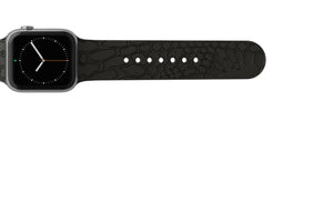 Apple Watch Band Dimension Kryptek Etch Black - Groove Life Silicone Wedding Rings