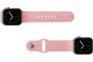 Watch Band Dimension Arrows Rose Pink - Groove Life Silicone Wedding Rings