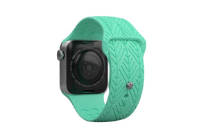 PREORDER | Watch Band Dimension Arrows Seafoam | Ships in August - Groove Life Silicone Wedding Rings