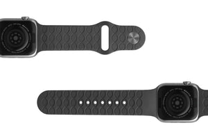 PREORDER | Watch Band Dimension Topo Deep Stone Grey | Ships in August - Groove Life Silicone Wedding Rings