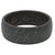 Original Dimension Chevron Black/Grey - Groove Life Silicone Wedding Rings