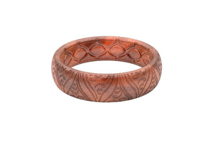 Thin Dimension Breathe Copper - Groove Life Silicone Wedding Rings