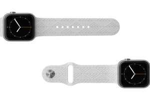 PREORDER | Watch Band Dimension Arrows White | Ships in August - Groove Life Silicone Wedding Rings