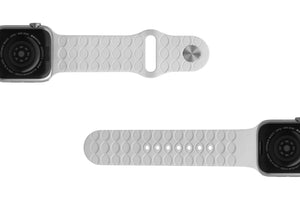 Apple Watch Band Dimension Arrows White - Groove Life Silicone Wedding Rings