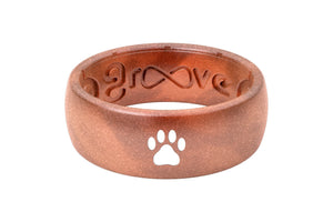 Silicone Ring Groove Custom | Copper Dog Paw Original