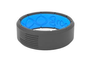 Edge America Deep Stone - Groove Life Silicone Wedding Rings