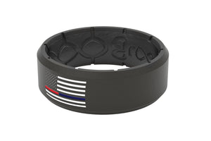 Edge Protector Black/Black Dual - Groove Life Silicone Wedding Rings