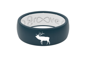 Original Custom Elk - Groove Life Silicone Wedding Rings