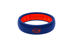 Thin College Florida Mascot - Groove Life Silicone Wedding Rings