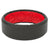 Edge Black/Red - Groove Life Silicone Wedding Rings