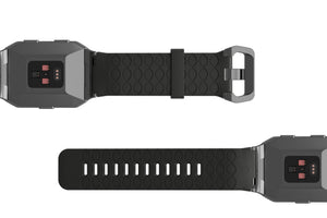 Fitbit Watch Band Ionic Dimension Kryptek Black - Groove Life Silicone Wedding Rings