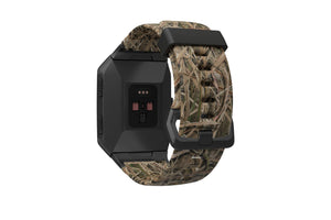 Fitbit Watch Band Ionic Mossy Oak Blades - Groove Life Silicone Wedding Rings