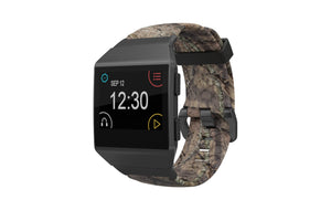 Fitbit Watch Band Ionic Mossy Oak Breakup - Groove Life Silicone Wedding Rings