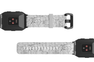 Winter Rose - Fitbit Ionic Watch Band - Groove Life