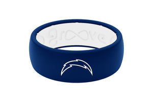 Original NFL Los Angeles Chargers - Groove Life Silicone Wedding Rings