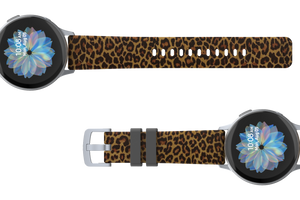 Leopard - 20mm Watch Band - Groove Life Silicone Wedding Rings
