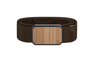 Groove Belt Light Cherry/Brown