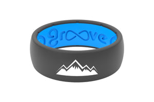 Original Custom Mountains Deep Stone Grey/Blue - Groove Life