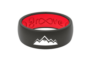 Original Custom Mountains Red/Black - Groove Life