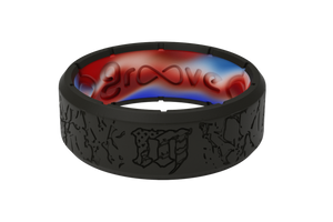 Mayhem Fracture - Groove Life Silicone Wedding Rings