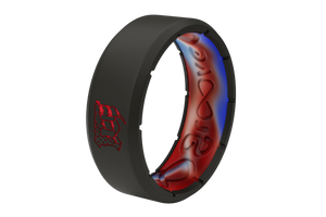 Mayhem Solid Red - Groove Life Silicone Wedding Rings