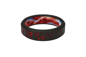 Thin Mayhem Fracture Red