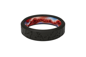Thin Mayhem Incognito - Groove Life Silicone Wedding Rings
