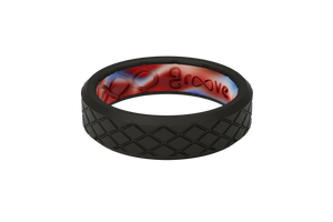 Thin Mayhem Grip - Groove Life Silicone Wedding Rings