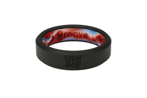 Thin Mayhem Solid - Groove Life Silicone Wedding Rings