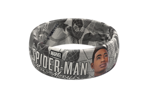 Spider-Man Miles Morales Black and White Comic - Groove Life