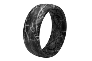 Original Camo Mossy Oak Elements Agua Blacktip - Groove Life Silicone Wedding Rings
