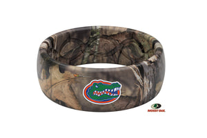 Original College Mossy Oak Florida Logo - Groove Life Silicone Wedding Rings