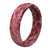Thin Camo Mossy Oak Elements Agua Crimson - Groove Life Silicone Wedding Rings