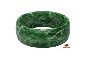 Original Camo Mossy Oak Elements Agua Largemouth - Groove Life Silicone Wedding Rings