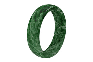 Thin Camo Mossy Oak Elements Agua Largemouth - Groove Life Silicone Wedding Rings