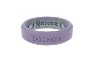 Hydrangea Dog Mom - Groove Life Silicone Wedding Rings