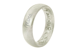 Pearl Mama - Groove Life Silicone Wedding Rings