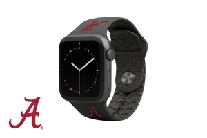 Apple Watch Band College Alabama Black - Groove Life