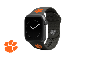 Apple Watch Band College Clemson Black