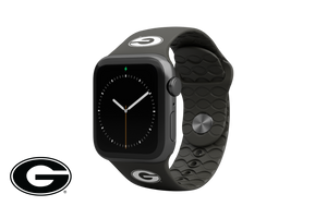 Apple Watch Band College Georgia Black - Groove Life