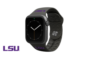 Apple Watch Band College LSU Black - Groove Life