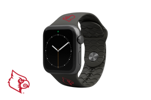 Apple Watch Band College Louisville Black