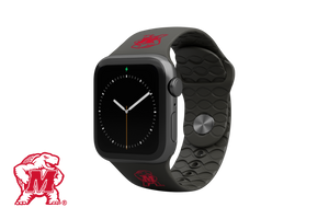 Apple Watch Band College Maryland Black - Groove Life