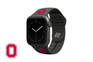 Apple Watch Band College Ohio State Black