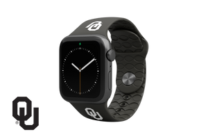 Apple Watch Band College Oklahoma Black - Groove Life