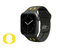 Apple Watch Band College Oregon Black