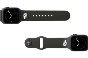 Apple Watch Band College Kansas Black - Groove Life