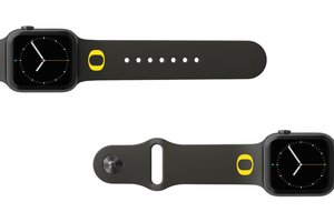 Apple Watch Band College Oregon Black - Groove Life